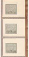 EC-585: VIETNAM: Lot Avec BF 1 à 5 Sur Carnets (1 Carnet** + 2 Carnets Gomme Adhérée Sur Intercalaire) - Vietnam