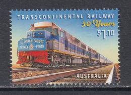 2019 Australia Transcontinental Railway Trains Locomotives Complete Set Of 1 MNH @ Below Face Value - Mint Stamps