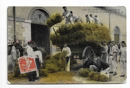 CPA  Militaria Carte Humoristique, Série Les Plaisirs De La Caserne Corvée De Fourrage Texture Brillante - Paris 1910 - Caserme