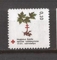 2001  9   BOSNIA ERZEGOVINA  REPUBLIKA SRPSKA BANJA LUKA CROCE ROSSA RED CROSS FAUNA TUBERCULOSI MNH - Heilpflanzen