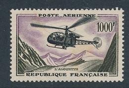 EC-601: FRANCE: Lot Avec PA N°37** Signé Calves - 1927-1959 Ungebraucht