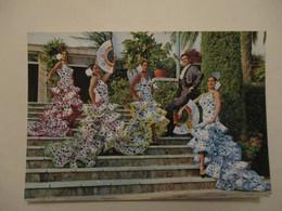 POSTCARD TARJETA POSTAL ESPAÑA SPAIN - DANCE FROM CADIZ / TANZE VON CADIZ / WOMANS - GOOD CONDITIONS - Cádiz