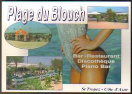"""Carte Postale """"Cart'Com"""" - Série Restaurant, Bar, Café - Plage Du Blouch - St Tropez, Côte D'Azur - Ristoranti"""