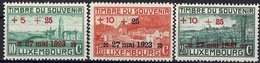 Luxembourg Luxemburg 1923 Monument Aux Morts 1e Guèrre Mondiale Série Neuf MNH** Val.cat.14€ - Unused Stamps