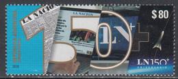 2019 Argentina La Nacion Newspaper Journalism Complete Set Of 1 MNH - Unused Stamps