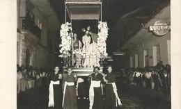 Carte-Photo  - Espagne - Procession à Localiser - Zonder Classificatie