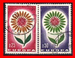 FRANCIA – TIMBRES. AÑO 1964 EUROPA - Usati