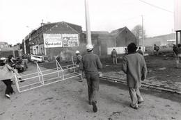 Photo De Presse.MLE10928.30x20 Cm Environ.Denain.Manifestations.1979.Siderurgie - Other