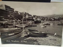 Cartolina Santa Margherita Ligure Prov Genova Il Porto Anni 50, Porto - Genova (Genoa)