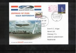 Netherlands 2007 Flight Of Zeppelin NT To Rotterdam Interesting Cover - Zeppelins