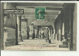 55 - Meuse - Stenay - Sous Les Arcades - Le Rémouleur - Petits  Métiers  - Animée - - Stenay