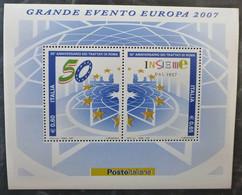 2007Italy3168-3169/B3850th Anniversary Of Treaty Of Rome - 2007