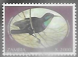 Zambia 1993  Sc#638  K2000  Bird  Used  2016 Scott Value $6.75 - Sperlingsvögel & Singvögel
