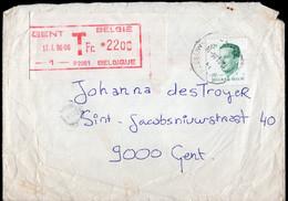 Belgique - 1986 - Lettre - Affranchissement Mécanique - A1RR2 - Lettres & Documents