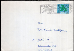 Helvetia - 1966 - Lettre - Air Mail - Deustchland -  A1RR2 - Covers & Documents