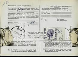 Doc De La Poste N° 965 : Obl. CHARLEROI - 5 B 5 - ( 6000 ) Du 11/01/74 - 1970-1980 Elström