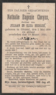 Gistel, 1911, Nathalie Cheyns, Degrijse - Images Religieuses