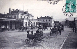 63 - Puy De Dome - CLERMONT-FERRAND -  La Gare - Attelages - Clermont Ferrand