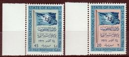 Kuwait, UNESCO 1966, As Per Scan, Mint Never Hinged. - Koweït