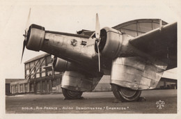 "CPA - Dewoitine 332 "" Emeraude "" - Compagnie Air France - Aéroport Du Bourget - 1919-1938: Entre Guerres"