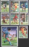 M1434 ✅ Sport UEFA Football Soccer European Championship Philatelic Exhibition 1988 Guinea Bissau 7v+S/s Set MNH ** - Eurocopa (UEFA)