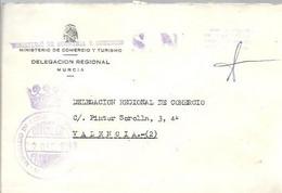 MINISTERIO DE ECONOMIA  MURCIA 1980 - Postage Free