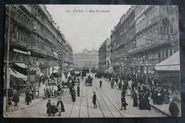 CPA Nord - Lille (59000) – 25. Rue Faidherbe – ELD – Animée – A Voyagé. - Lille