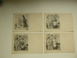 Beau Lot De 20 Cartes Postales De Fantaisie    Mooi Lot Van 20 Postkaarten Fantasie  - 20 Scans - 5 - 99 Cartes