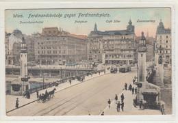 Wien    1913 , Ferdinandbruecke , Tram - Sin Clasificación