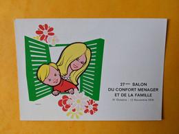 Salon Du Confort Ménager De La Famille Illustrateur Langlet - Fiere