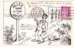 MOZAIS   Aller Boire De L'eau A Nichy - Vichy