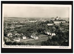 AK Würzburg Stadt Und Festung Marienberg, Feldpost, Würzburg 12.12.1941 - Unclassified