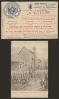 Carte Postale - Exposition De Liège 1905 (Vieux Liège) : L.A. 57 + Grande PUB La Victoire (assurance) - Lüttich
