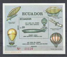 ECUADOR  YVERT  H/B  61     MNH  ** - Zeppelins