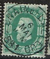 30  Obl  Concours Sc  Braine-L'Alleud - 1869-1883 Leopoldo II
