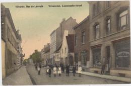 Vilvoorde - Leuvense Straat (Allecourt Et Vits) (gekleurde En Gelopen Kaart Met Zegel) - Vilvoorde