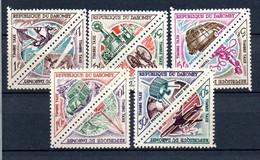 W-21 Dahomey Taxes N° 37 à 46 ** . A Saisir  !!! - Benin – Dahomey (1960-...)