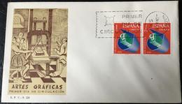 España Spain 1966 Artes Graficas - FDC