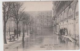 PARIS - CRUE DE LA SEINE - Clichy - Place Des Fêtes - 28 Janvier 1910  ( - Pub Des Granulé Maggi ) - De Overstroming Van 1910