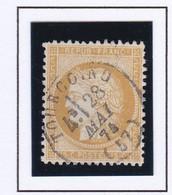 N° 59 T.P. Ob T 16 Tourcoing ( Dept 57 ) - 1849-1876: Periodo Clásico
