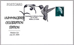 COLIBRI - HUMMINGBIRD. Weldon CA 2004 - Hummingbirds