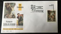 España Spain 1994 .IV Centenario Fundacion Carlos De Amberes. - FDC
