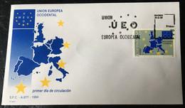 España Spain 1994 Union Europea Occidental. - FDC