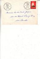 Belgique - Lettre De 1984 - Oblit Bruxelles - Ecole Royale Militaire - - Lettres & Documents