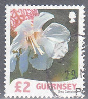 GUERNSEY   SCOTT NO  984  USED   YEAR  2008 - Guernesey