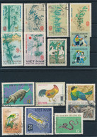 VIET NAM  -  Lot Briefmarken Gestempelt  -  Auktion - Vietnam