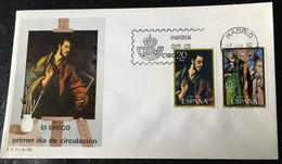 España Spain 1982  El Greco - FDC