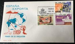 España Spain 1980 España Exporta. - FDC