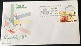 España Spain 1985 Olymphilex 85 - FDC