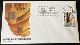 España Spain 1985 Corpus Christi Toledo - FDC